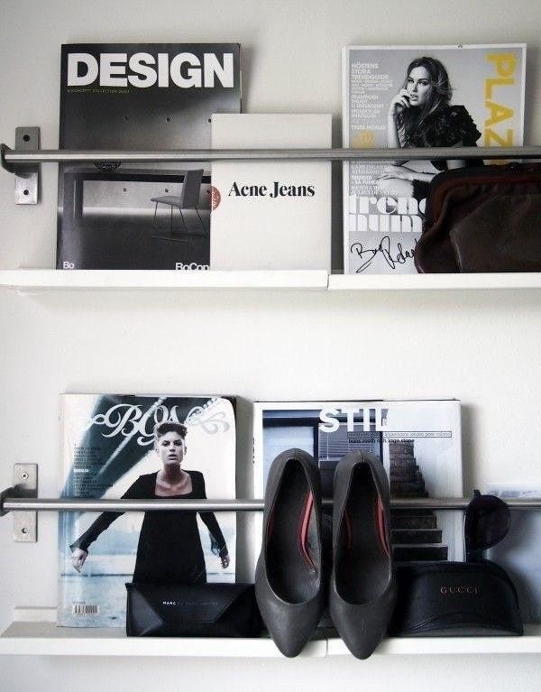 Фотография: Гостиная в стиле Классический, Современный, DIY, Советы, хранение вещей – фото на InMyRoom.ru