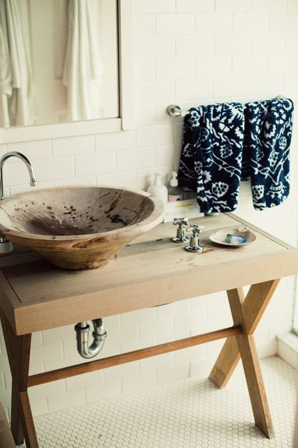 Фотография: Ванная в стиле Эко, Декор интерьера, Квартира, Декор, Советы, раковина, раковина в ванной – фото на InMyRoom.ru