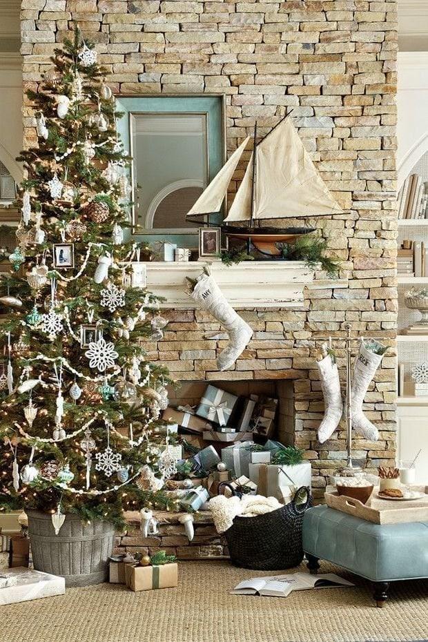 Photo: Scandinavian style decor, interior decor, accessories, holiday, interior color, new year - photos on InMyRoom.ru
