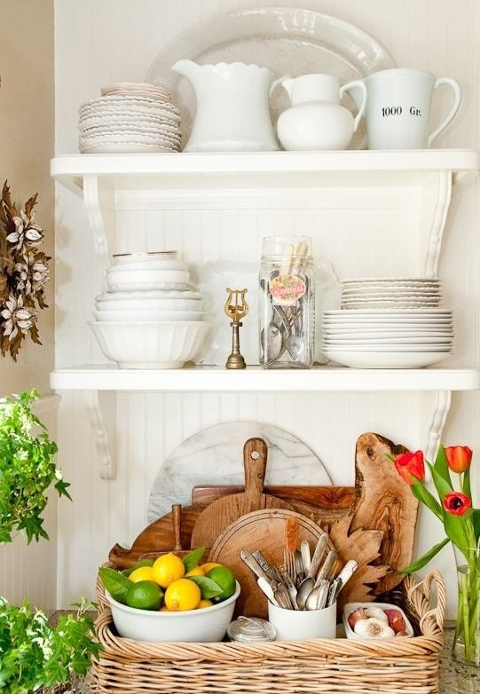 Photo: Country style decor, Kitchen and dining room, DIY, Small-sized apartment, Apartment, Advice - photos on InMyRoom.ru