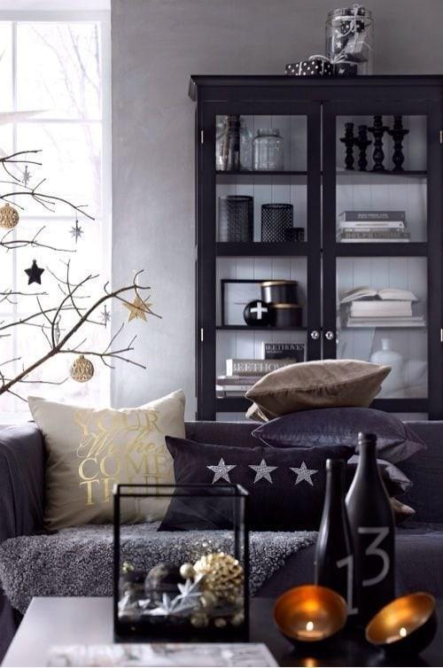 Photo: Scandinavian Living Room, Interior Decor, Accessories, Holiday, Interior Color, New Year - photos on InMyRoom.ru