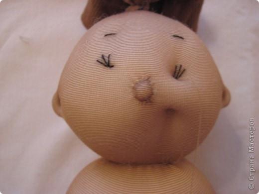 Меня часто спрашивают, как я шью таких пупсов. Все время давала ссылку на японские журналы, а вот теперь появилась возможность сделать мастер-класс. В детском саду заказали таких куколок в подарок девочкам. фото 24