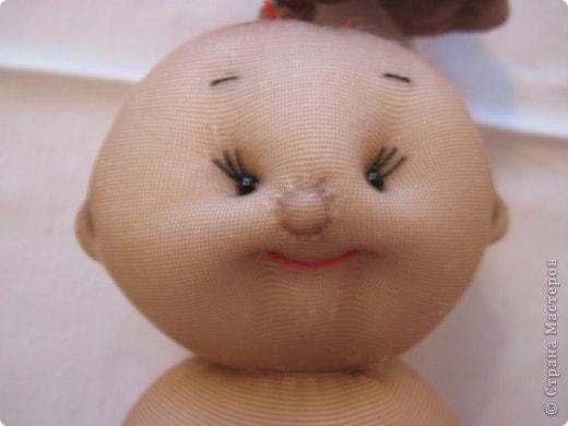 Меня часто спрашивают, как я шью таких пупсов. Все время давала ссылку на японские журналы, а вот теперь появилась возможность сделать мастер-класс. В детском саду заказали таких куколок в подарок девочкам. фото 29