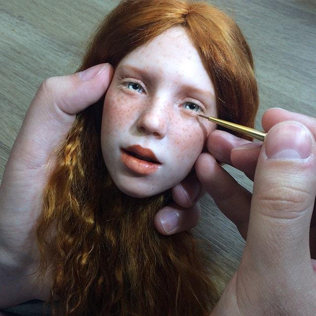 потрясающие реалистичные куклы