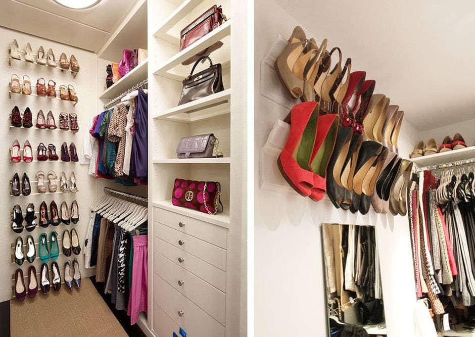 shoe rails