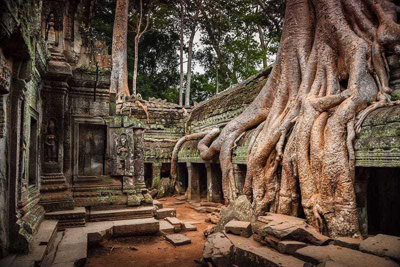 17. Древний город Ангкор, Камбоджа.