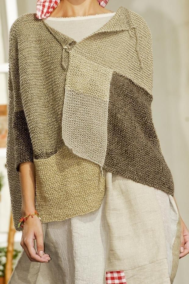 Вязание кофточки в стиле бохо