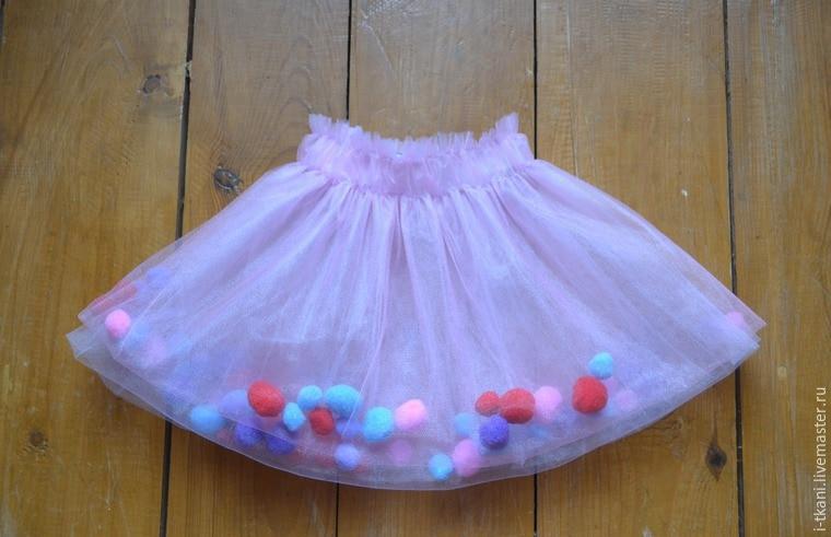 Сшить юбку для девочки своими руками без выкройки 358