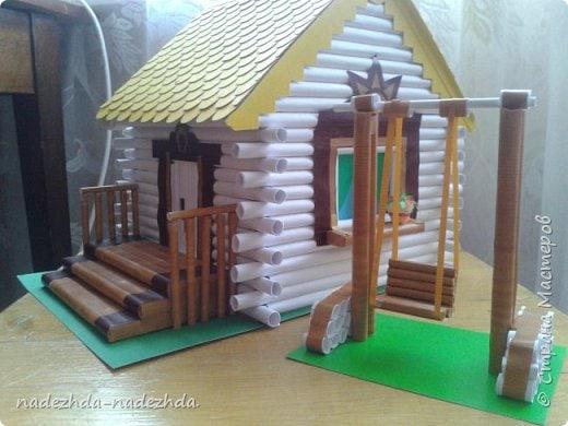 Домик в поделке своими руками в детский сад