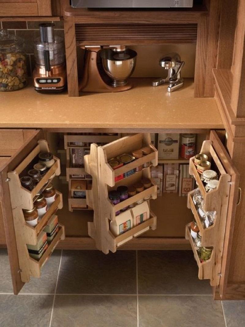 Кухонный шкаф своими руками (53 фото как сделать шкафчики на кухню) 19