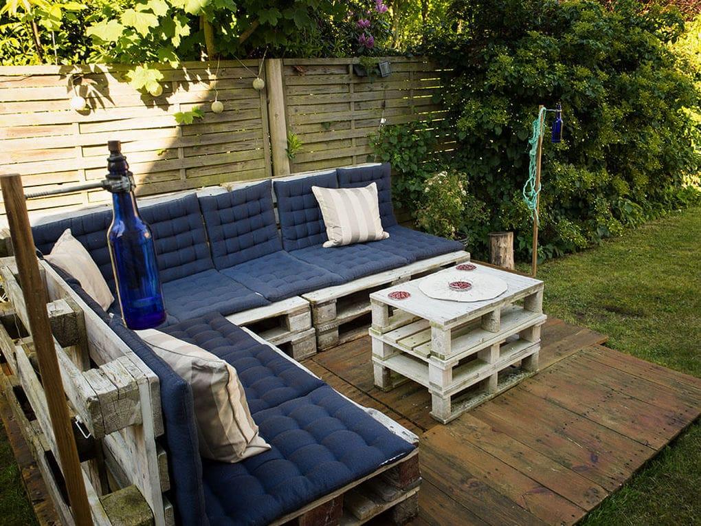 Садовая мебель из поддонов мастер класс