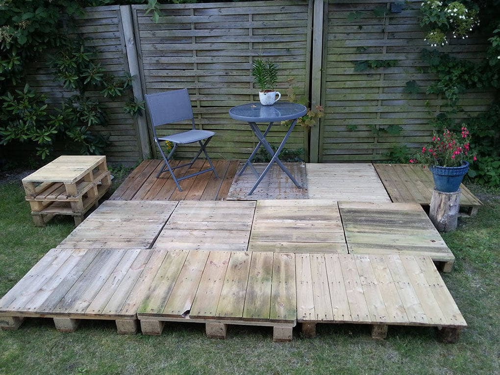 Fitting the pallets