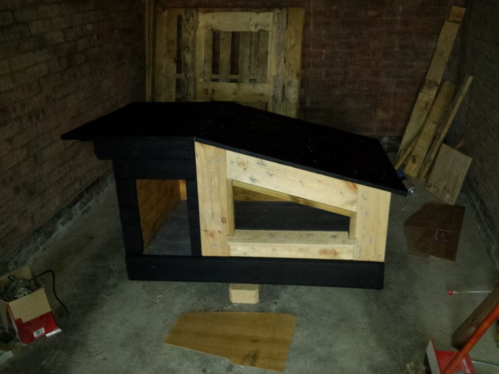 Door for the dog house 1