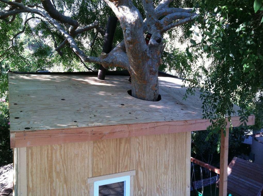 Зашиваем крышу