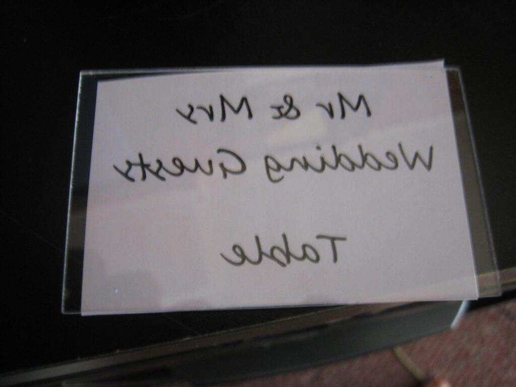 Шаблон надписи для таблички