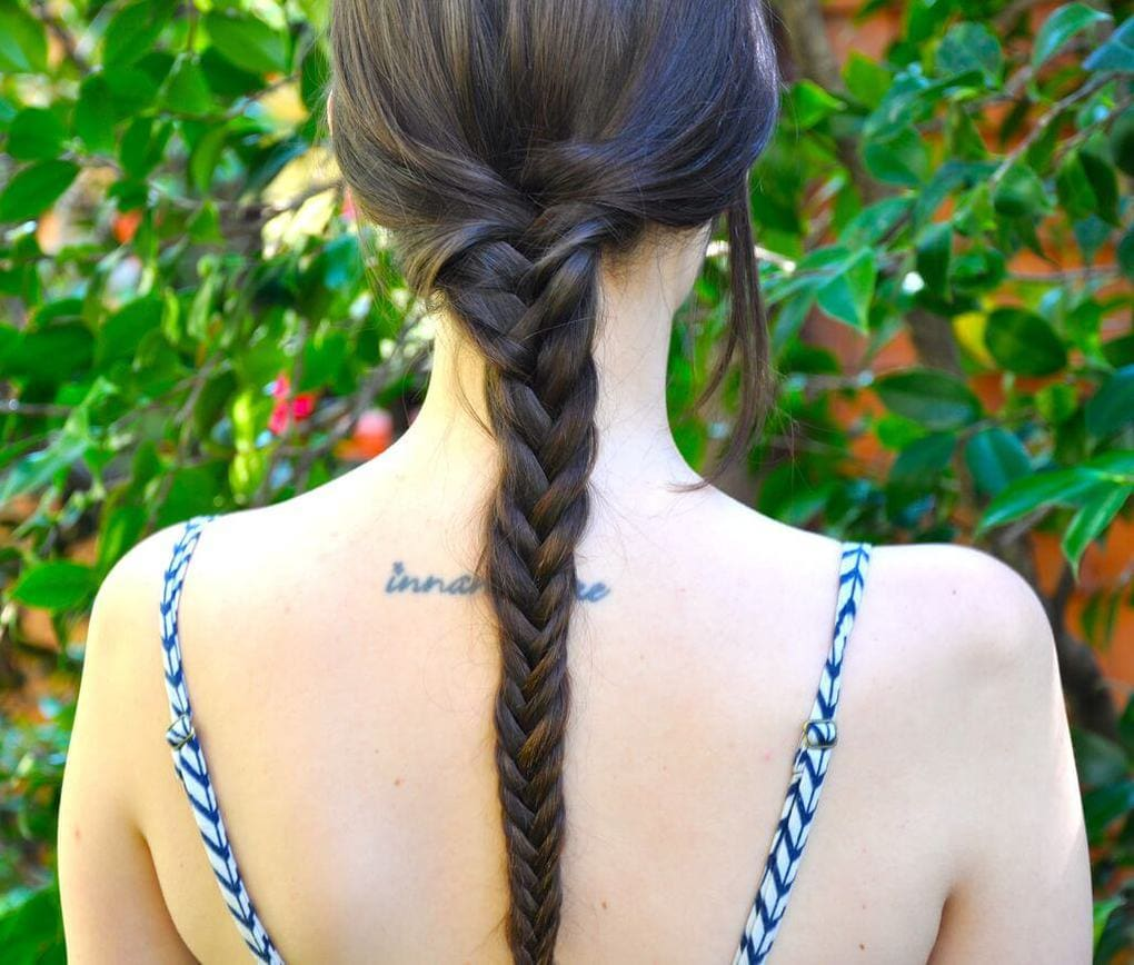 Pigtail fishtail