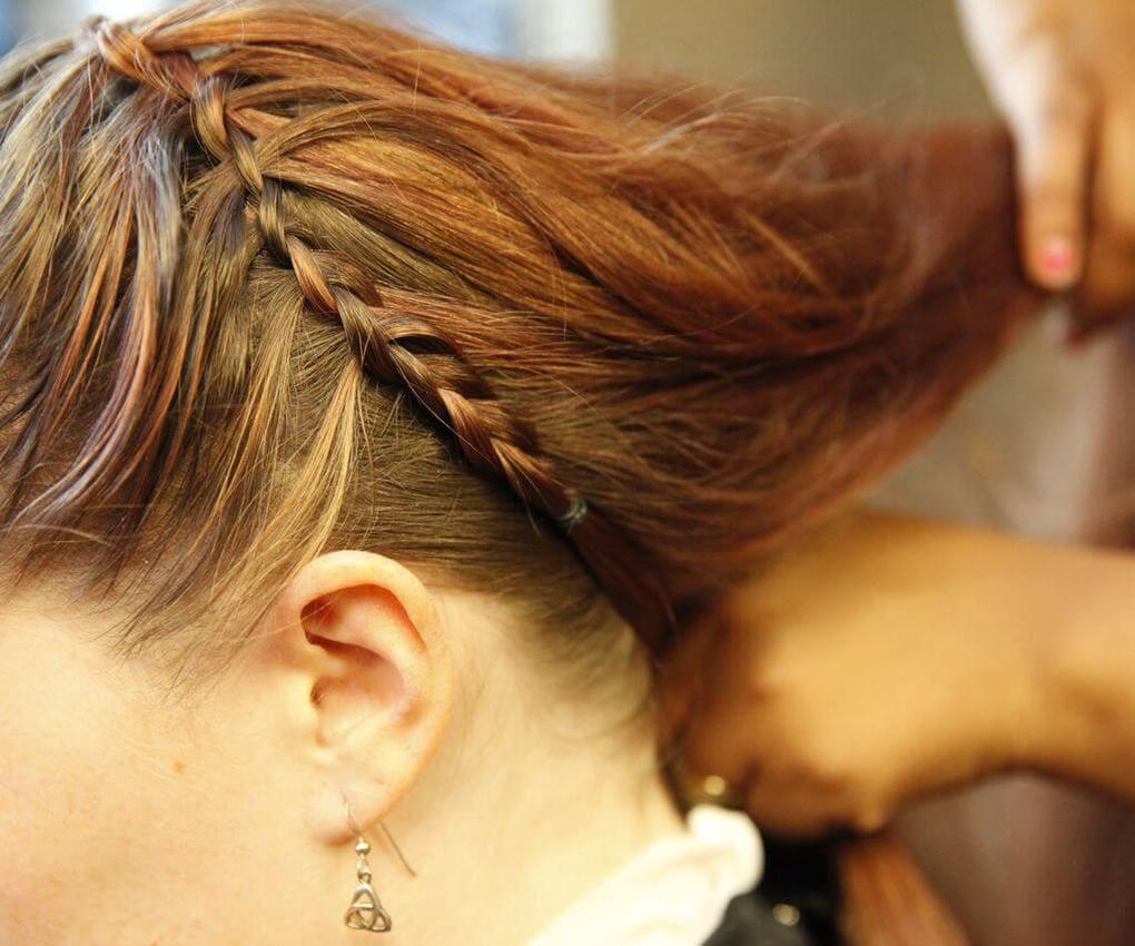 Коса вокруг головы 3