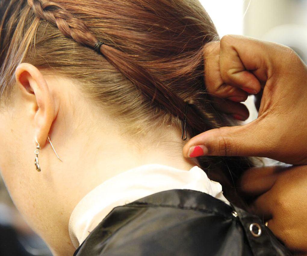 Коса вокруг головы 4