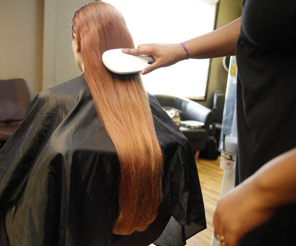 Подготовка волос