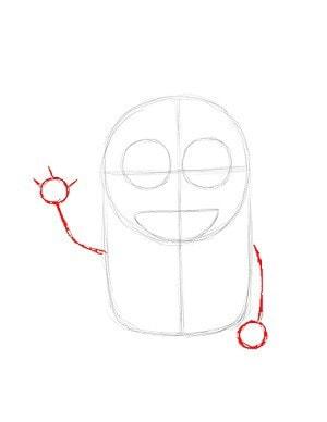 Как нарисовать миньона этап 6