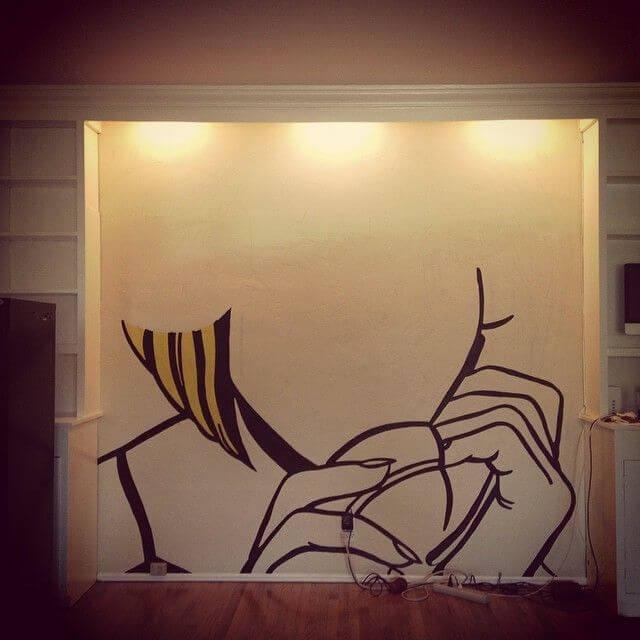 Рисуем на стене 2
