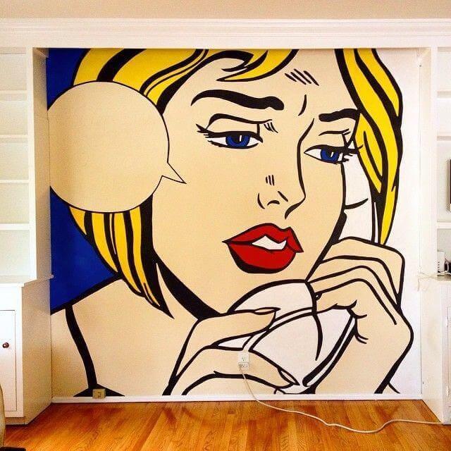 Рисуем на стене 5