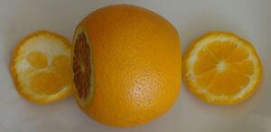 Надрезанный апельсин 1