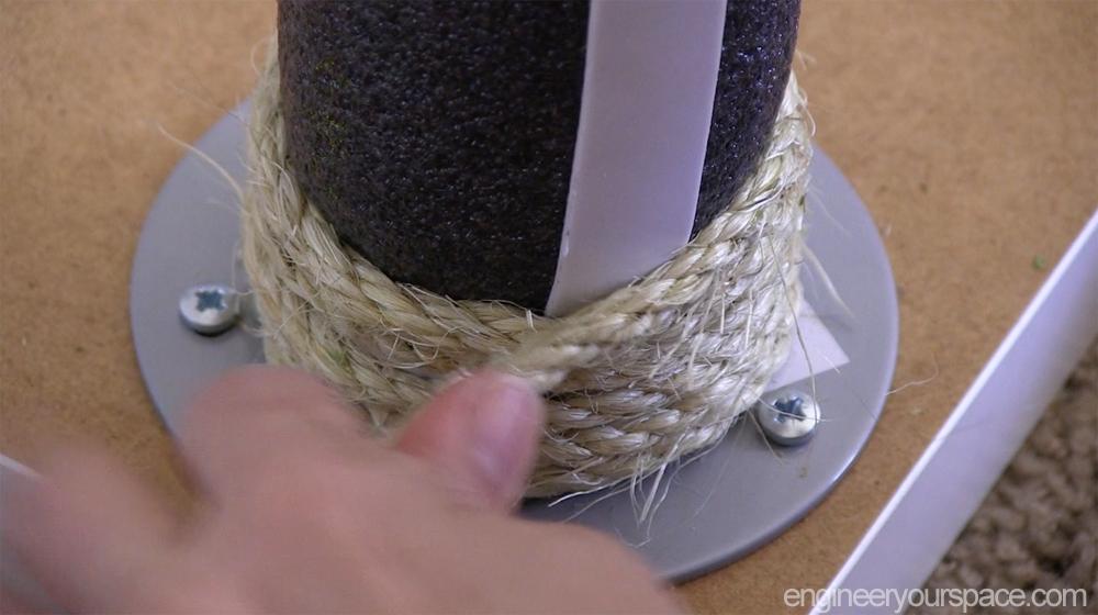 Наматываем верёвку