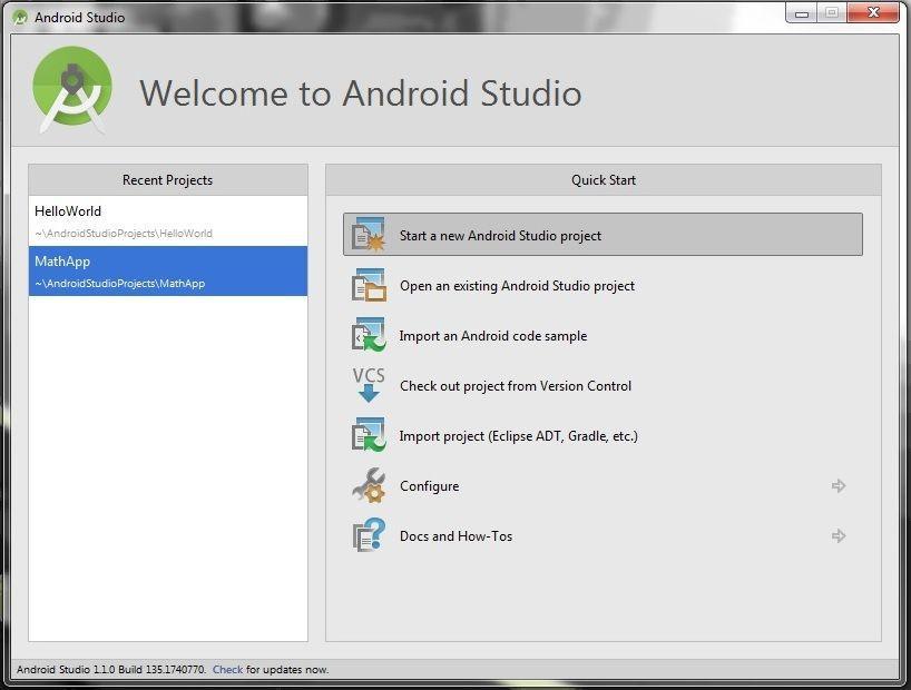 проект android studio