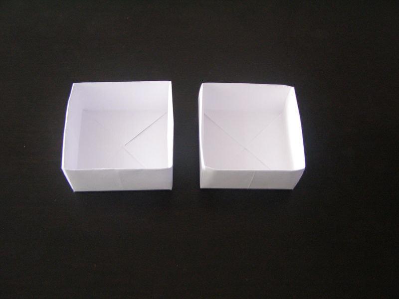 Коробка и крышка