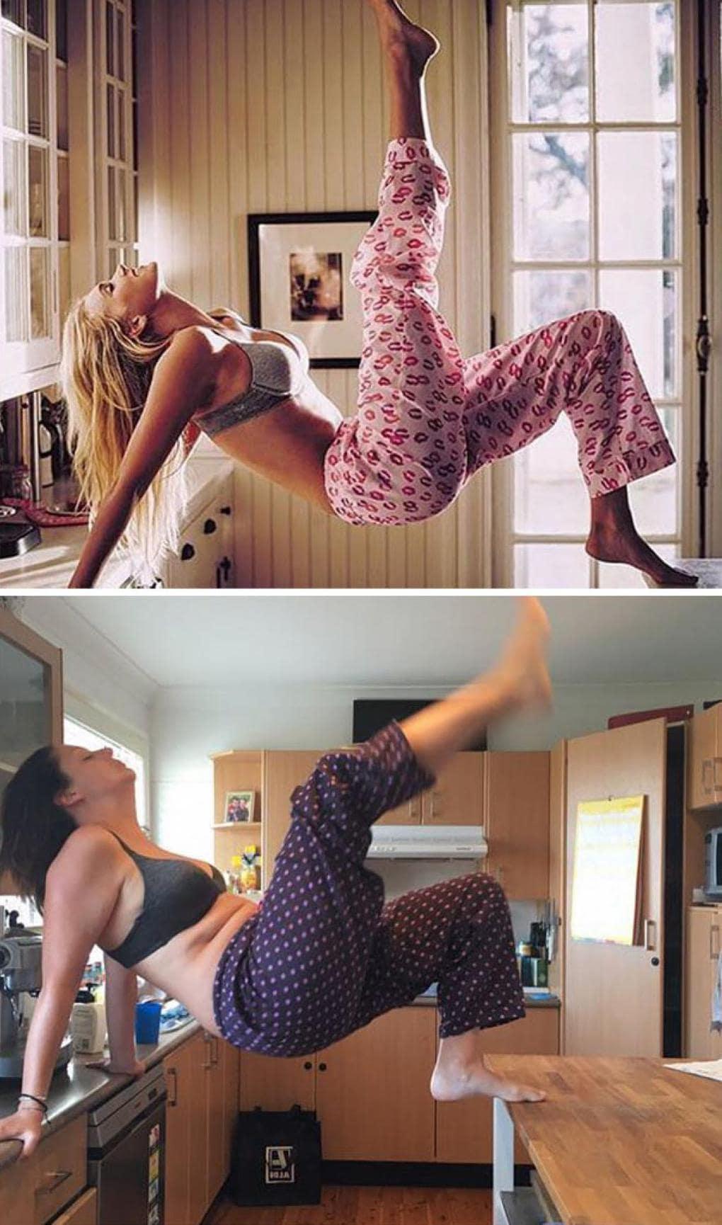 Как делают такие фото девушек