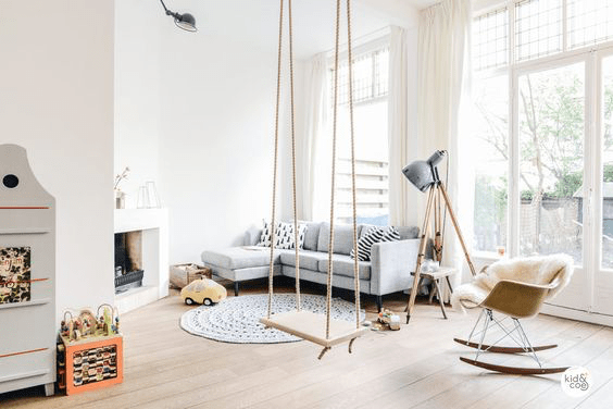 swing in the apartment