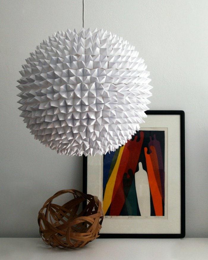 diy-lampe-origami-lampe-basteln-bastelideen
