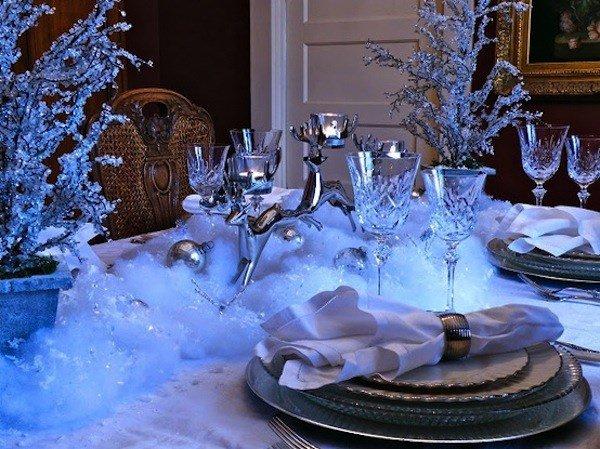 Сказочный декор для новогоднего стола