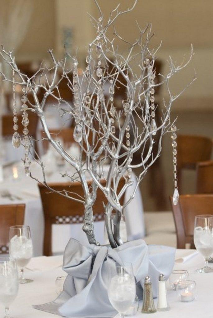 Оригинальный декор для новогоднего стола