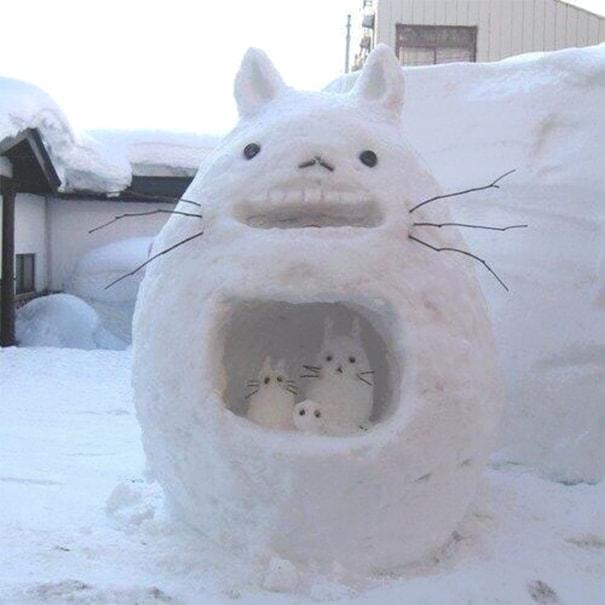 снеговик покемон