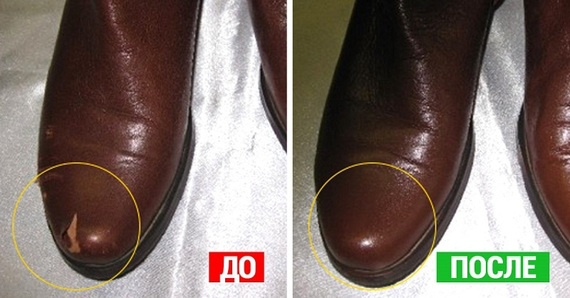 scratches on shoes photo