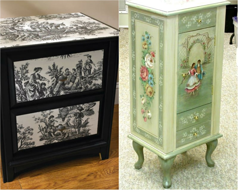 how to restore furniture with their own hands