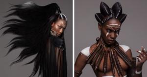 модные африканские прически