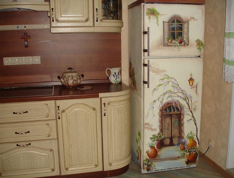 Декупаж кухонной мебели своими руками мастер класс
