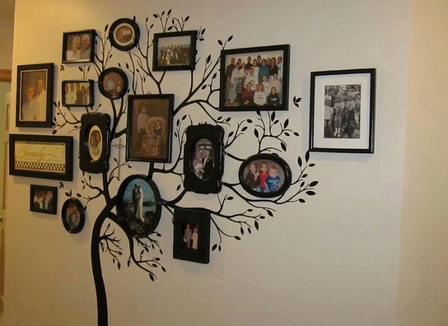 Дерево класса с фотографиями своими руками 23