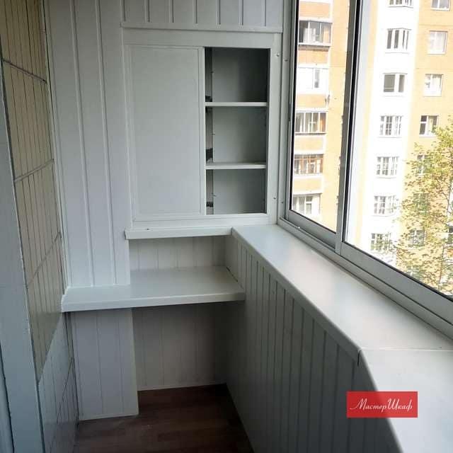 Топ 30 идей как сделать шкафчики на балкон..