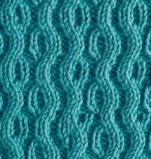 knitting snake pattern