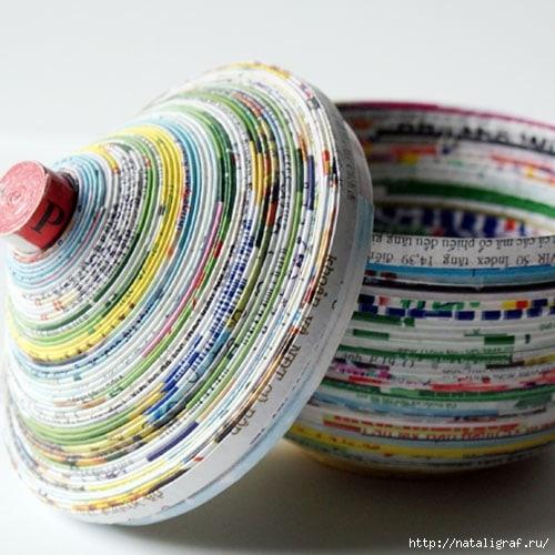 И вот, журналы и газеты превращаются в… ИЗУМИТЕЛЬНЫЕ ВЕЩИ