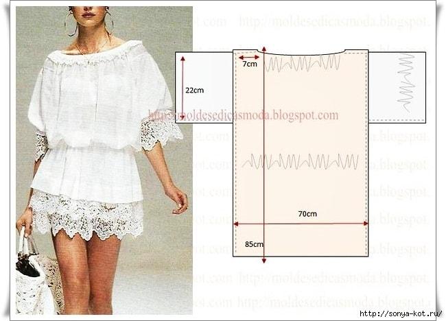 Простые платья своими руками