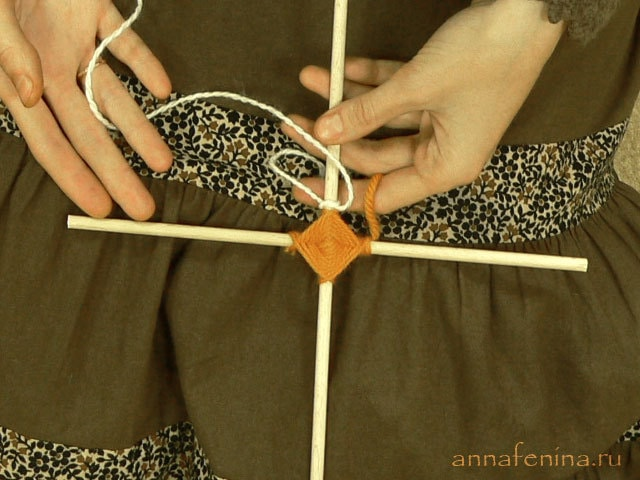 Плетение мандалы урок