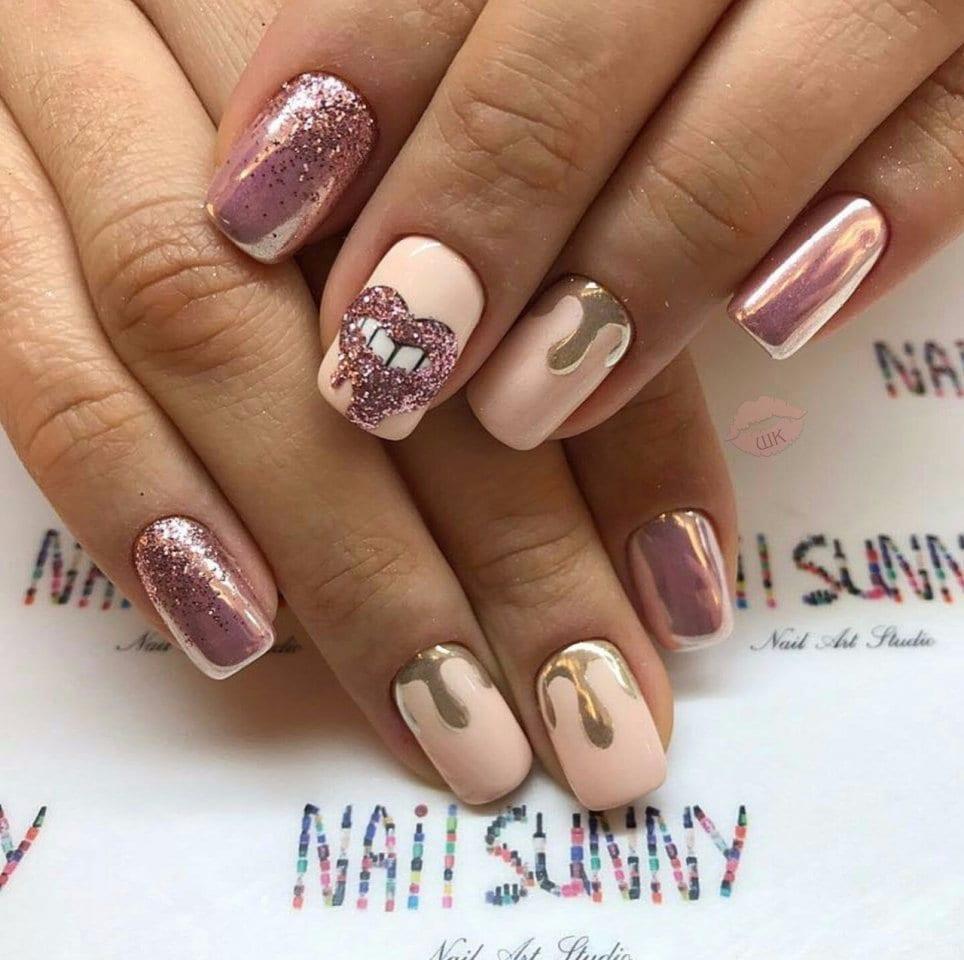 Весенние дизайны ногтей гель лак новинки