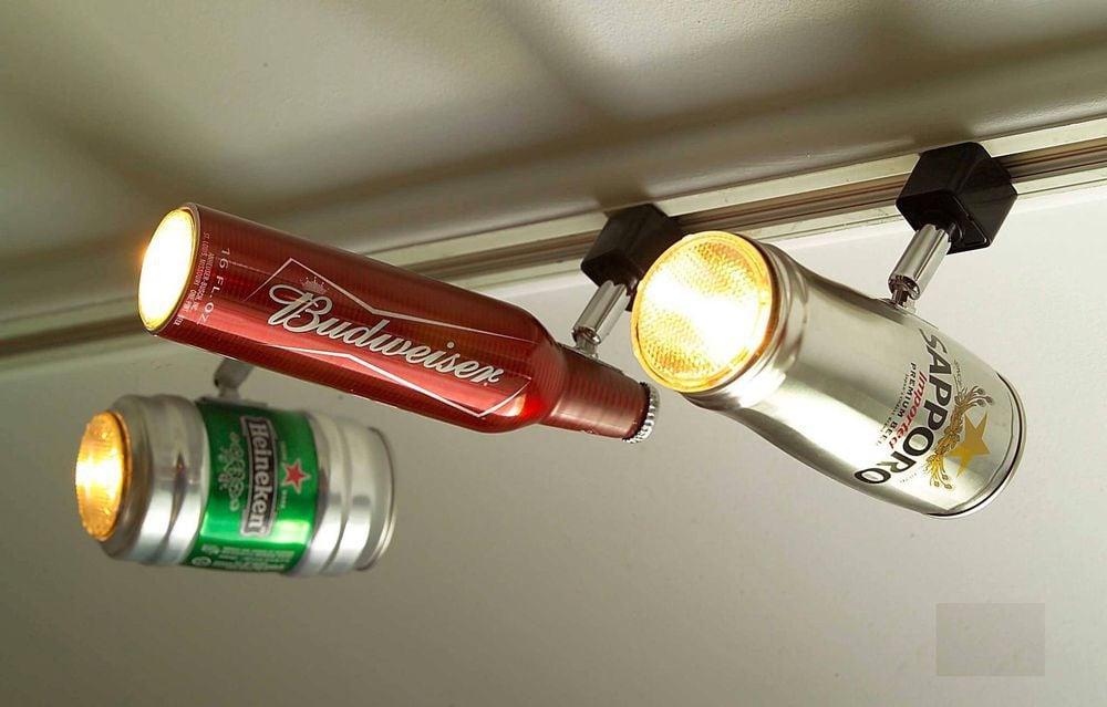 специфических видов светильник из язычков от банок выбрать размер