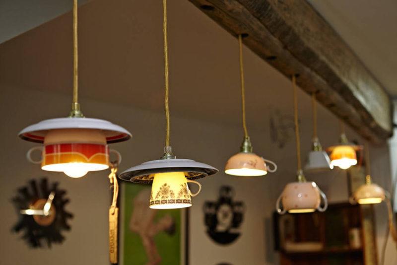 Лампы из подручных материалов: 29 вариантов необычных светильников - Своими руками