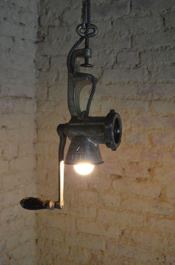 Старинный светильник своими руками из 48